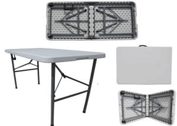 Plastic Folding Tables 4ft