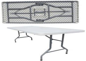 Rectangular Folding Tables 4ft