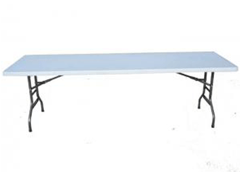 Rectangular Folding Tables 8ft